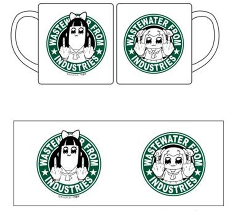 Pop Team Epic - Wastewater from Industries Mug