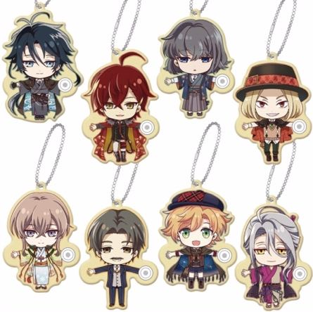 Bungo to Alchemist - Punitto Tetsunagi Keychain Vol. 1 Single BLIND BOX