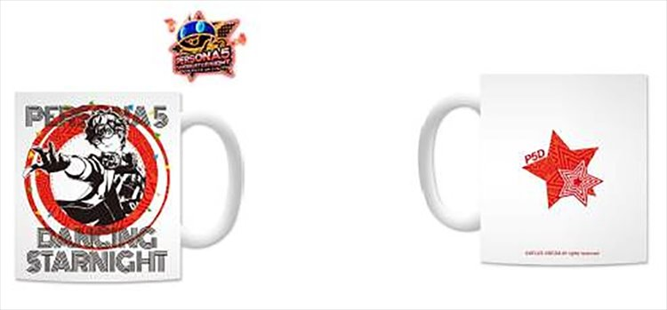 Persona 5 Dancing in Starlight - Hero Mug
