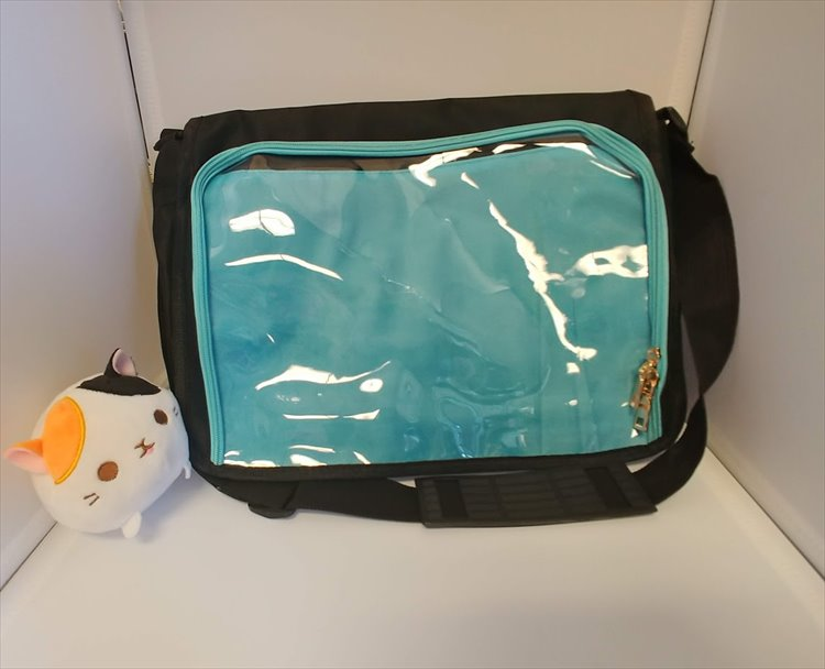 Aniji Itabag - Changable Messenger Bag Blue