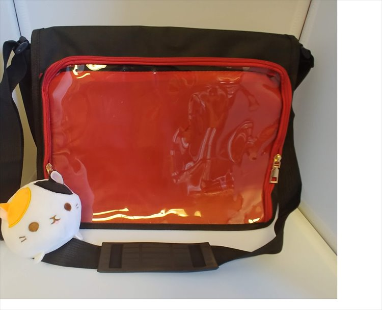 Aniji Itabag - Changable Messenger Bag Red