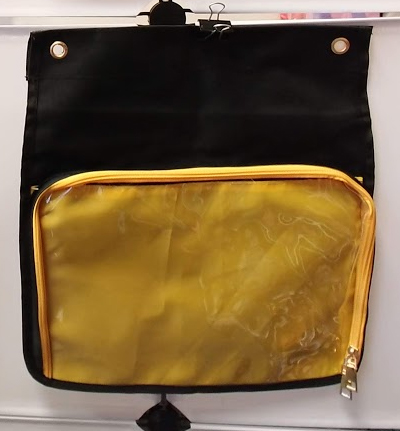 Aniji Itabag - Changable Messenger Bag Flap Yellow
