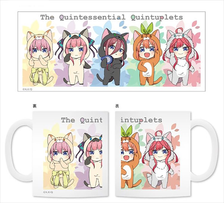 The Quintessential Quintuplets - Animal Suit Mug