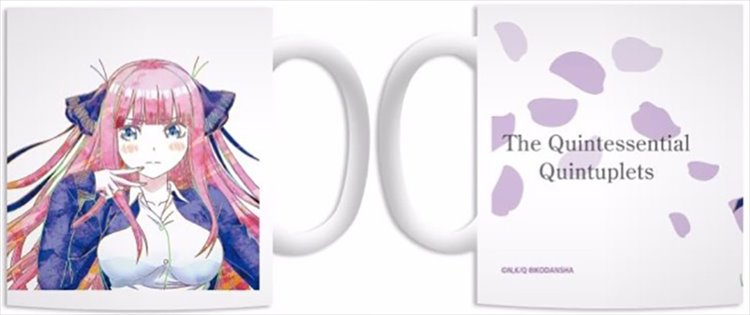 The Quintessential Quintuplets - Nino Ani-art Mug