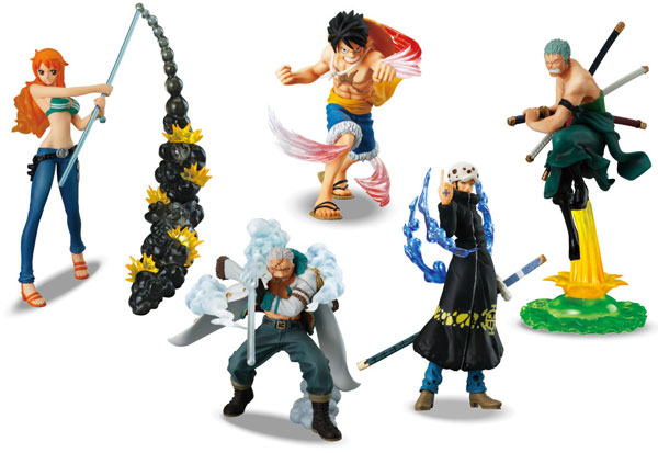One Piece - Attack Motion 9 Punk Hazard Set of 5