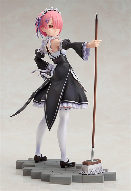 Re:Zero - 1/7 Ram PVC Figure