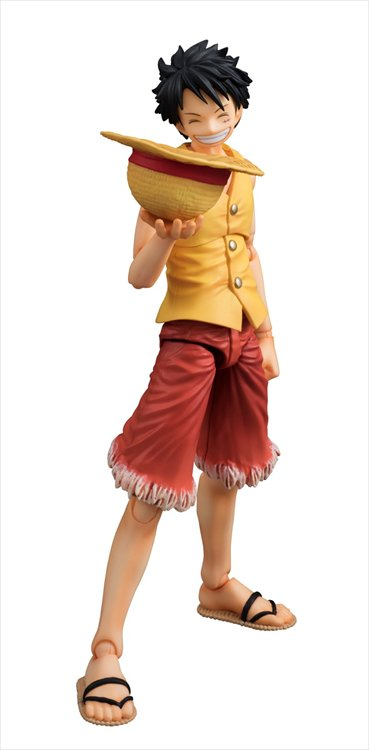 One Piece - Monkey D. Luffy Past Blue Ver. Yellow Variable Action Heroes