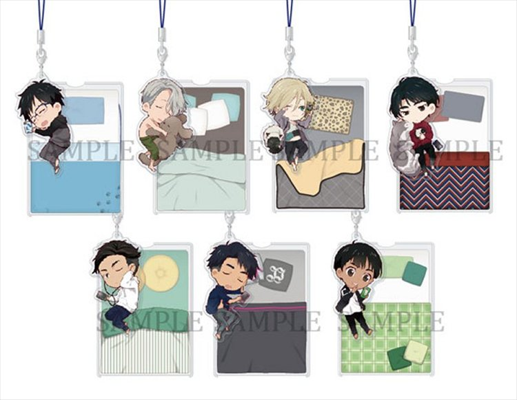 Yuri On Ice - Oyasumi keychians Single BLIND BOX