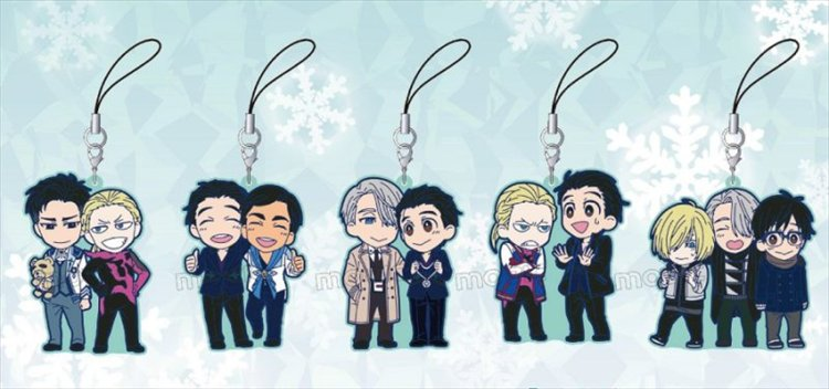 Yuri On Ice - Rubber Strap Collection Single BLIND BOX