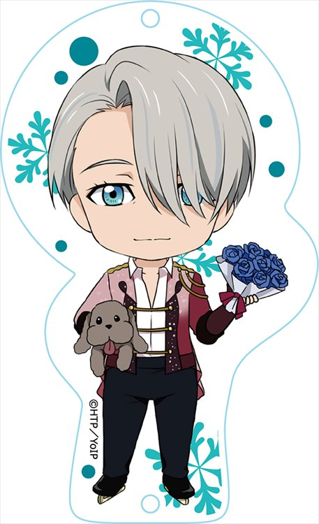 Yuri On Ice - Victor Nikiforov Dress Up Nendoroid Plus Acrylic Key Ring
