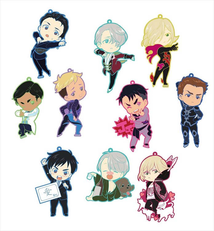 Yuri On Ice - Toys works Collection Niitengomu! Single BLIND BOX