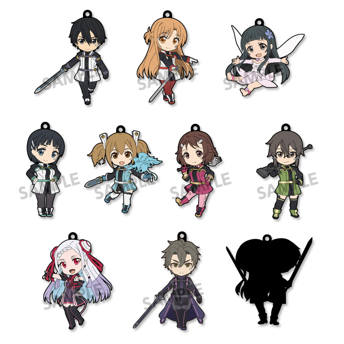 Sword Art Online The Movie Ordinal Scale - Pikuriru Trading Rubber Strap Single BLIND BOX