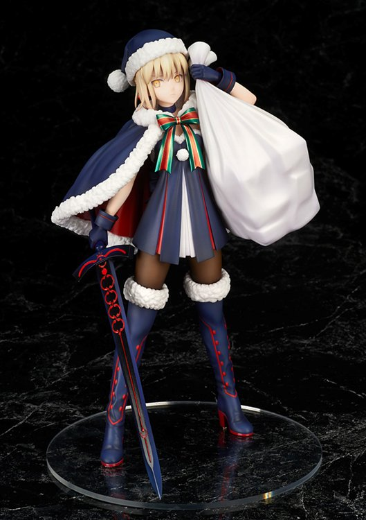Fate/Grand Order - Altria Pendragon Santa Alter 1/7 PVC Figure