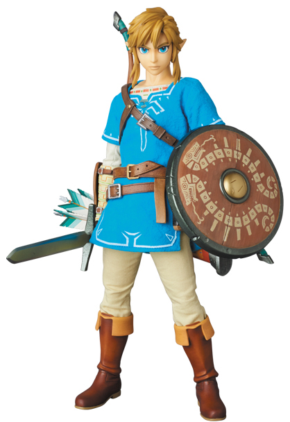 Legend of Zelda : Breath of the Wild - Real Action Heroes Link