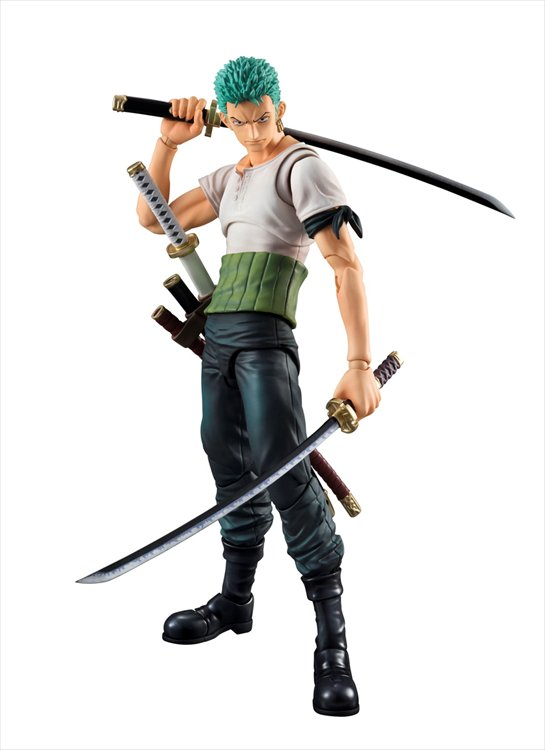 One Piece - Zoro Past Blue Ver. Variable Action Heroes