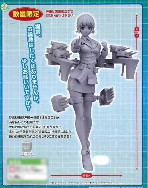 Kantai Collection - Myoukou Kai Ni Prize Figure