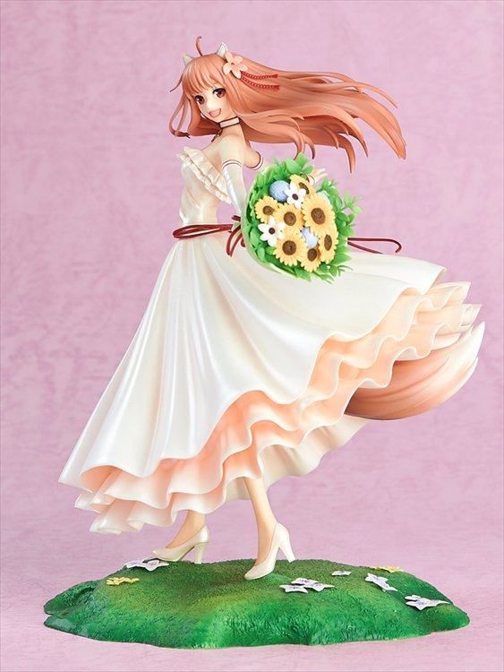 Ookami to Koushinryou - 1/8 Holo Wedding Dress Ver. PVC Figure