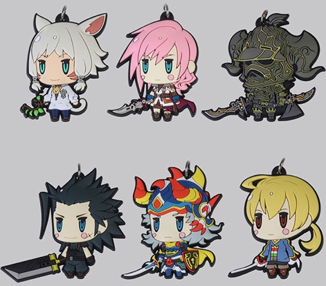 World of Final Fantasy - Trading Rubber Strap Vol.6 Single BLIND BOX