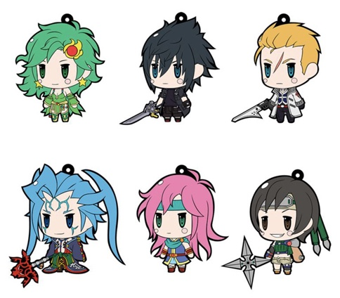 World of Final Fantasy - Trading Rubber Strap Vol.8 Single BLIND BOX