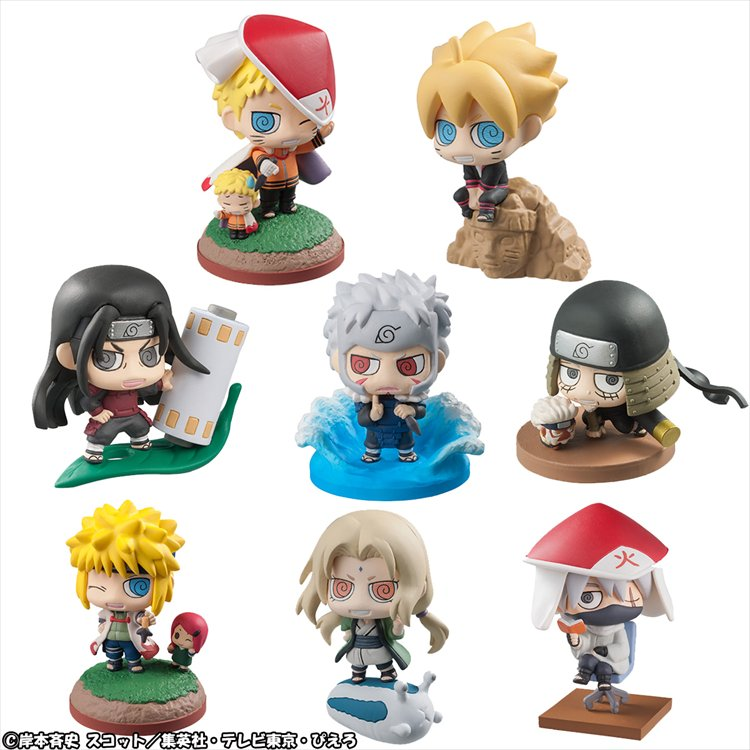 Boruto - Boruto & Hokage Petit Chara Land Set of 8