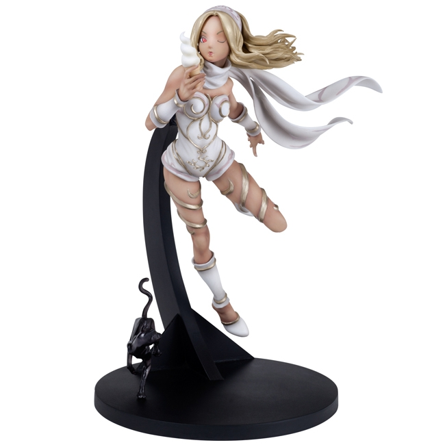 Gravity Rush - Non Scale Kitten White Ver. Hdge technical statue No.04