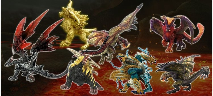 Monster Hunter - Capcom Figure Builder Monster Hunter Standard Model Plus Ver.2 Single BLIND BOX