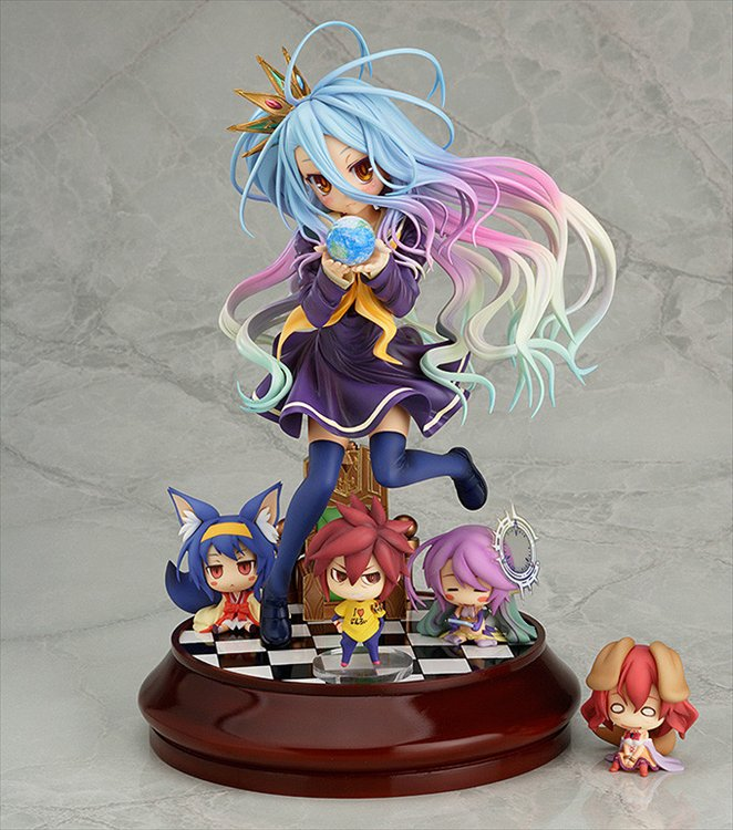 No Game No Life - 1/7 Shiro Phat Ver. PVC Figure Re-release