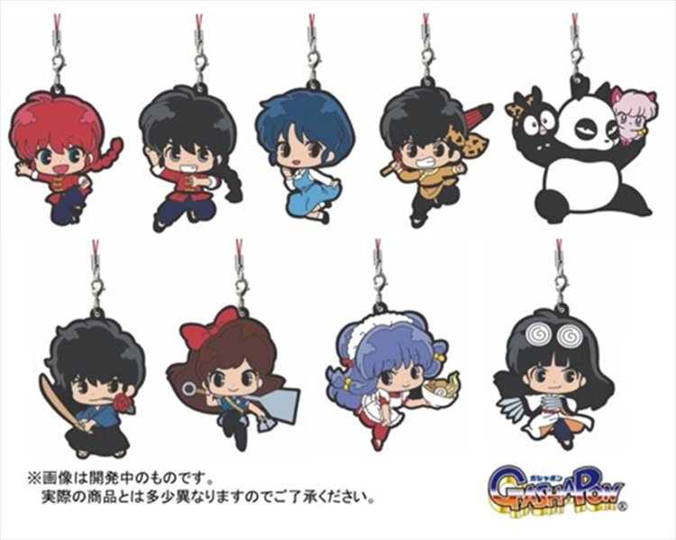 Ranma 1/2 - Rubber Mascot Strap Set of 9