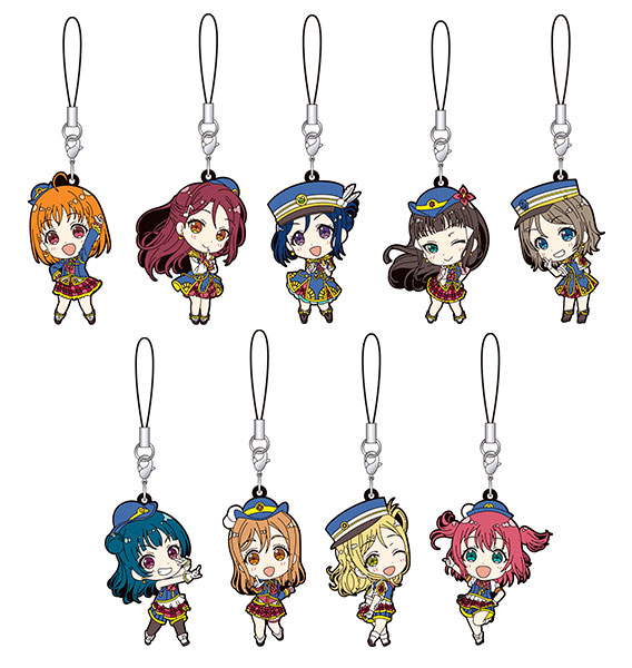 Love Live Sunshine - Rubber Strap SINGLE BLIND BOX