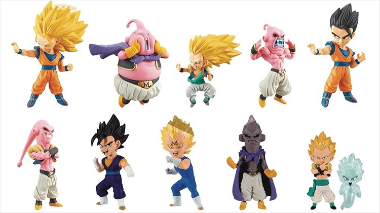 Dragon Ball Z - WCF Mystery Box Figure Collection Buu Saga SINGLE Figure