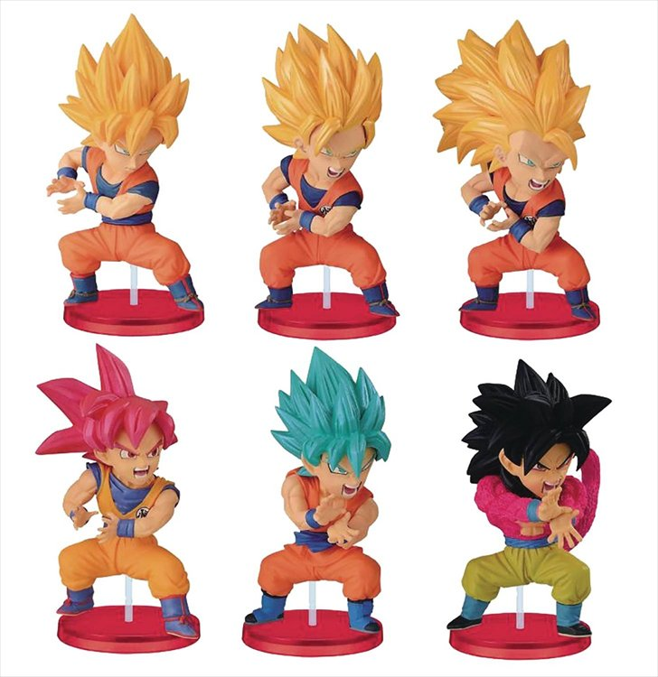 Dragon Ball Z - WCF Mystery Box Figure Collection Son Goku Transformations Vol.10 SINGLE Figure