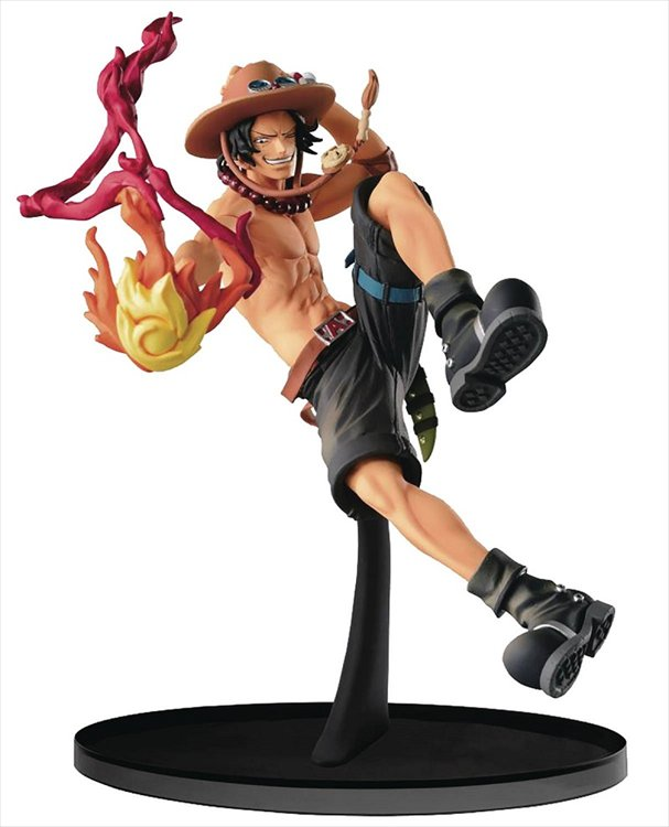 One Piece SCultures - Big Zoukeio 6 Portgas D. Ace Special Ver. Figure
