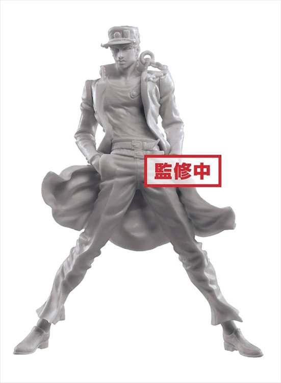 JoJos Bizarre Adventure Stardust Crusaders - 6 X Diamond Records Jotaro Non Color Prize Figure