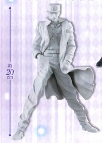 JoJos Bizarre Adventure Part 4- Jotaro Kujo Mono Color Prize Figure