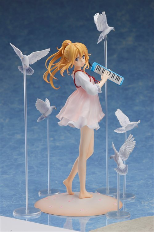 Your Lie in April - 1/8 Kaori Miyazono Casual Dress Ver. PVC FIgure