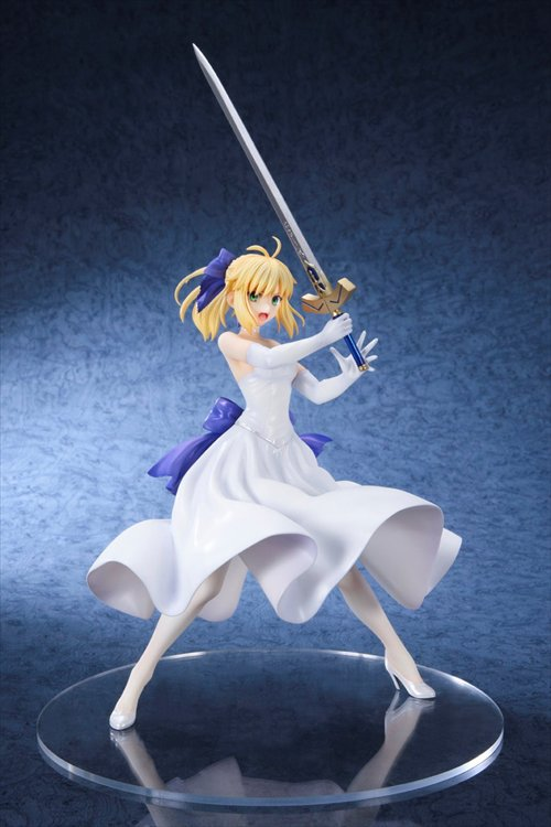 Fate/stay night [Unlimited Blade Works] - 1/8 Saber White Dress Ver. re-release PVC Figure