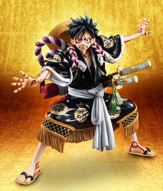"One Piece - Luffy ""Kabuki Edition"" P.O.P re-release"