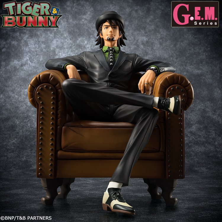 "Tiger and Bunny - ""S.O.C"" Kotetsu G.E.M Series PVC Figure"