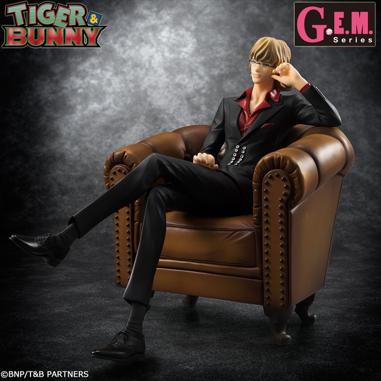 "Tiger and Bunny - ""S.O.C"" Barnaby G.E.M Series PVC Figure"