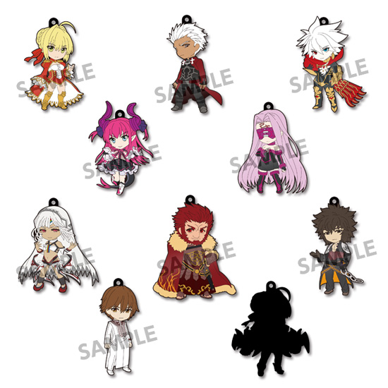 Fate EXTELLA - Pikuriru Trading Rubber Strap Vol. 1 SINGLE BLIND BOX