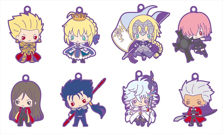 Fate Grand Order - Rubber Mascot Designed by Sanrio SINGLE BLIND BOX