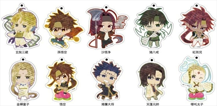 Saiyuki Reload Blast - Acrylic Keychain SINGLE BLIND BOX