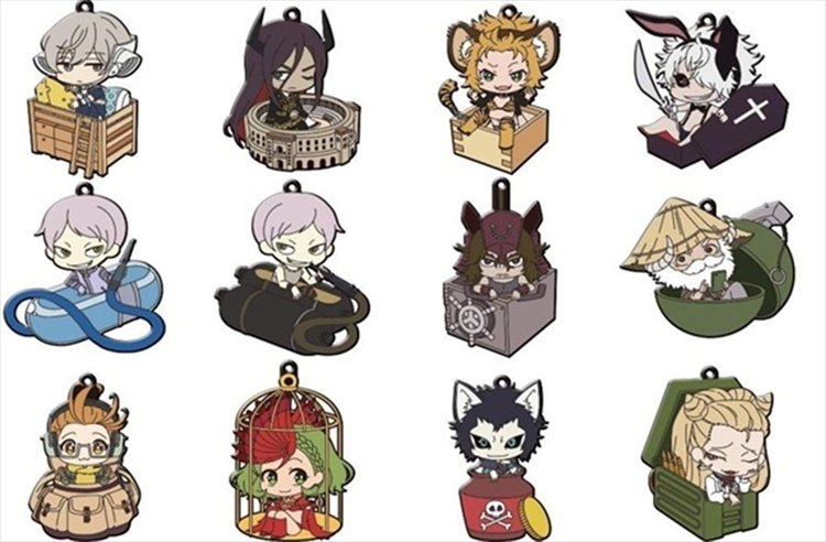 Juuni Taisen - Rubber Strap SINGLE BLIND BOX