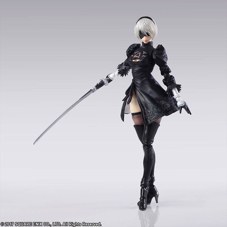 Nier Automata - 2B and Machine Action Figure