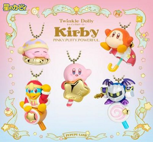 Kirby - Twinkle Dolly Kirby Pinky Puffy Powerful Single BOX