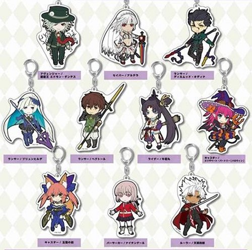 Fate Grand Order - Pic-Lil Trading Acrylic Keychain vol.4 Single BLIND BOX