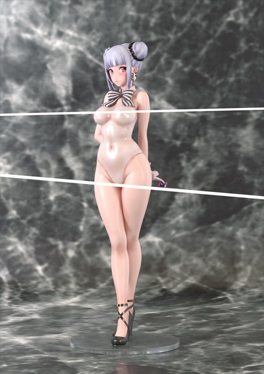 Neco Metal - 1/7 Neco Metal See-through School Swimsuit Ver. PVC Figure
