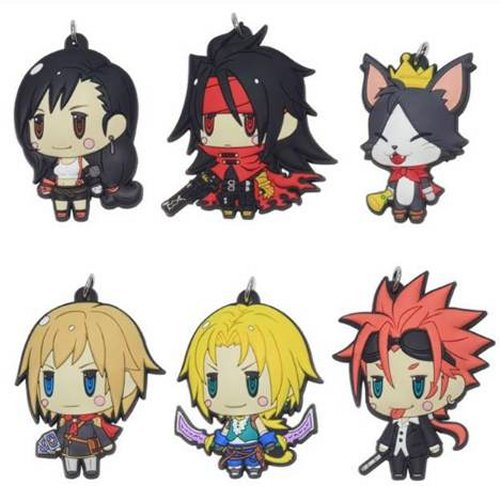 Final Fantasy - Character Rubber Straps Vol. 2 Singgle BLIND BOX