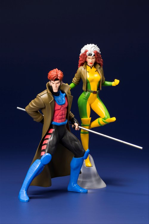 X Men - 1/10 Gambit and Rogue Two Pack ARTFX+ Statue