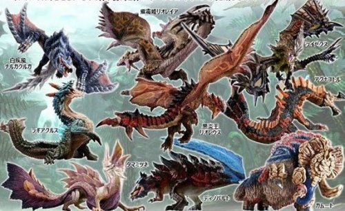 Monster Hunter - Capcom Figure Builder Monster Hunter Standard Model Plus The Best Vol. 4-5-6 Single BLIND BOX Re-release